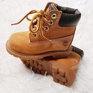 "Timberland Toddler 6"" Wheat Waterproof Boots 5m"
